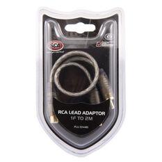 SCA RCA Lead Adaptor - 1 Female to 2 Male, , scanz_hi-res
