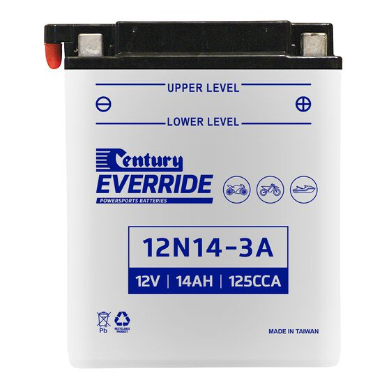 Century Powersports Battery 12N14-3A, , scanz_hi-res
