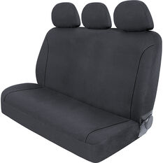 SCA Canvas Seat Covers - Charcoal/Grey Adjustable Headrests Size 06H Rear Seat, , scanz_hi-res
