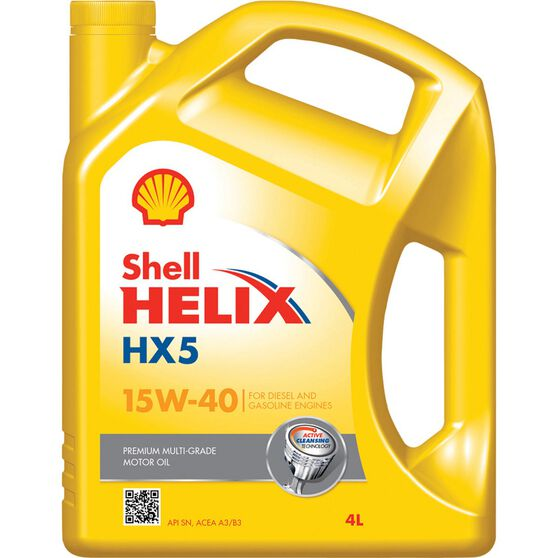 Shell Helix HX5 Engine Oil - 15W-40, 4 Litre, , scanz_hi-res