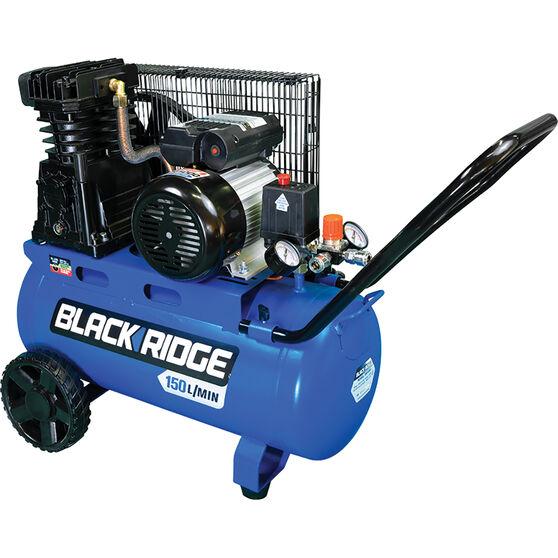 Blackridge Air Compressor 2.5HP Belt Driven 40 Litre tank, , scanz_hi-res