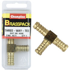 Champion Hose Joiner - 3 / 16inch, Brass, , scanz_hi-res