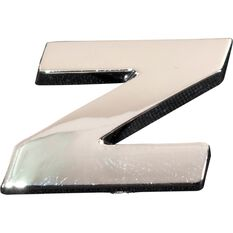 SCA 3D Chrome Badge Letter Z, , scanz_hi-res