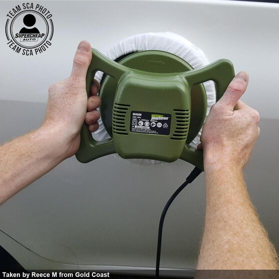 Car Polisher - 240mm, 120 Watt, , scanz_hi-res