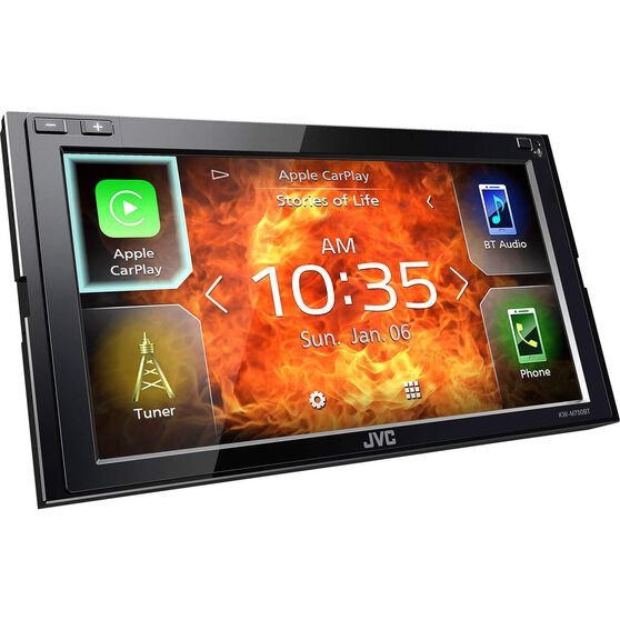 "JVC 6.8"" Carplay and Android Auto Media Player - KWM750BT, , scanz_hi-res"