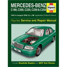 Haynes Car Manual For Mercedes Benz C Class 1993-2000 - 3511, , scanz_hi-res
