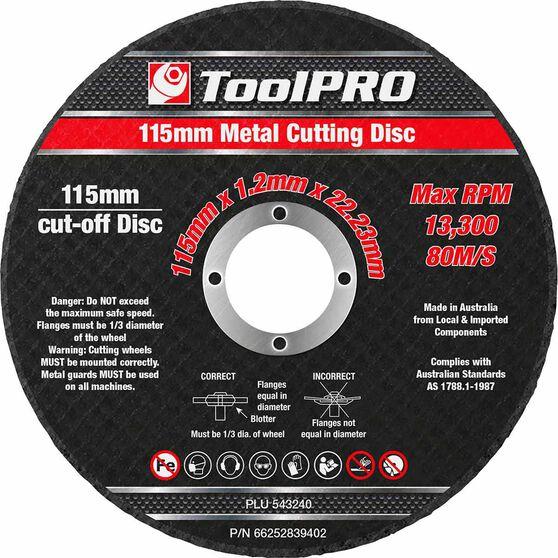 ToolPRO Metal Cut Off Disc 10 Pack, , scanz_hi-res