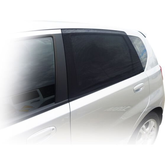 SCA Window Shade - Side, Small Rectangular, Black, Pair, , scanz_hi-res