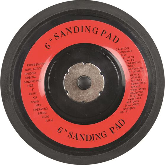 Blackridge Air Sanding Pad - 6 inch, 150mm, , scanz_hi-res