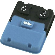 MAP Key Remote Button Replacement - Suits Ford / Mazda 2 and 3 Button, KF107, , scanz_hi-res