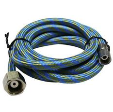Blackridge Air Hose, Braided - 1.5m, , scanz_hi-res