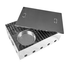Kiwi Sizzler Stainless Steel Portable Smoker Small, , scanz_hi-res