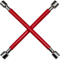 SCA Wheel Brace Rubber Grip Metric Red, , scanz_hi-res