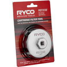 Ryco Oil Filter Cup Wrench RST208, , scanz_hi-res