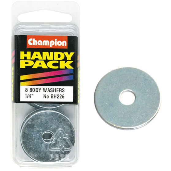 Champion Bo+418:547dy Washer - 1 / 4inch X 1-1 / 4inch, BH226, Handy Pack, , scanz_hi-res