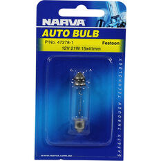 Narva Bulb - 12V, 21W, 15x41mm, , scanz_hi-res