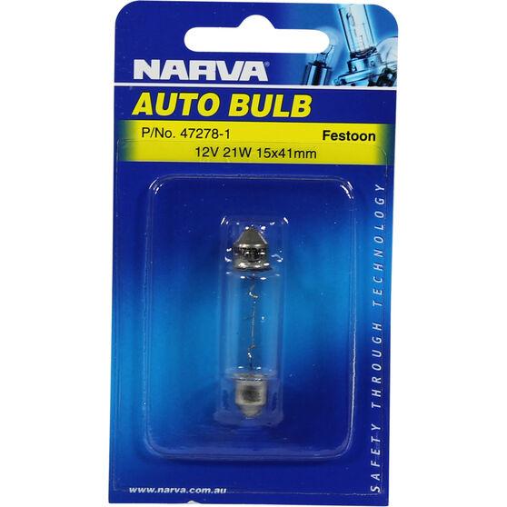 Narva Bulb - 12V, 21W, 15x41mm, , scanz_hi-res