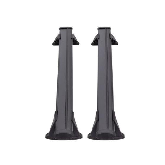 Prorack Aero Bar Roof Racks Pair 1350mm S17B Black, , scanz_hi-res