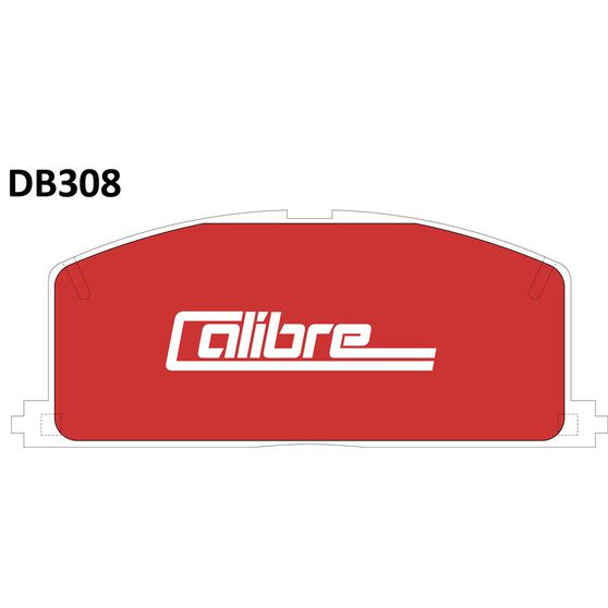 Calibre Disc Brake Pads - DB308CAL, , scanz_hi-res