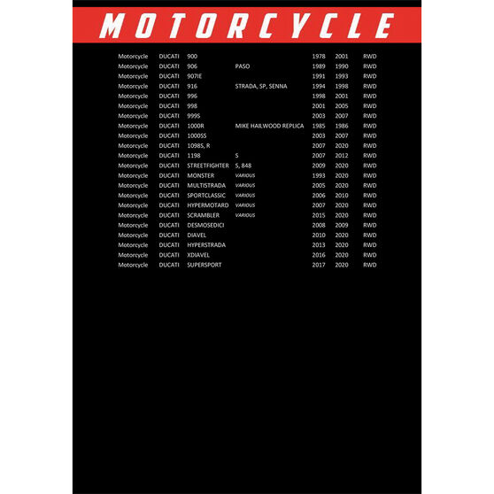 Race Performance Motorcycle Oil Filter RP153, , scanz_hi-res