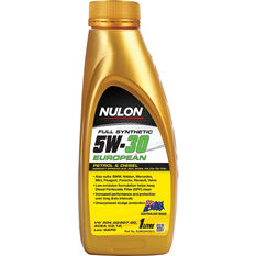 Nulon Full Synthetic European Engine Oil 5W-30 1 Litre, , scanz_hi-res