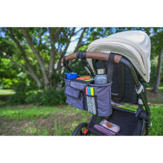 Cabin Crew Organiser - Headrest/Stroller, Grey, , scanz_hi-res