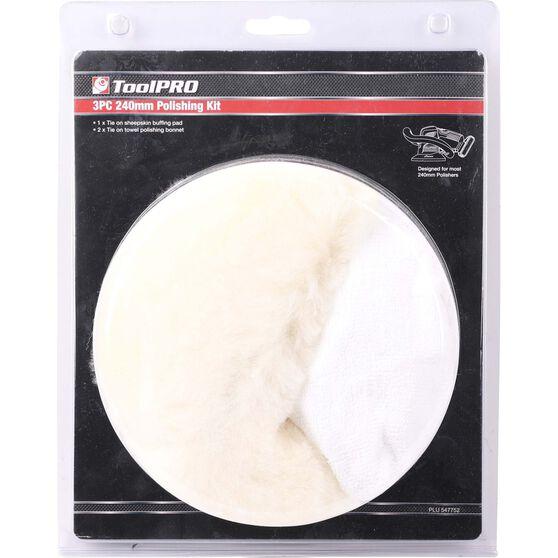 ToolPRO Polishing Pad Kit - 3 Piece, , scanz_hi-res