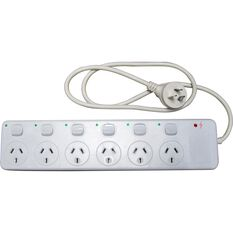 SCA Powerboard w / Switches - 6 Outlet, , scanz_hi-res