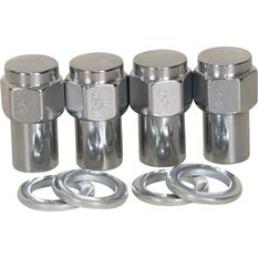 Calibre Wheel Nuts, Shank, Chrome - MN12, 1 / 2inch, , scanz_hi-res
