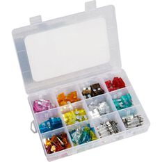 SCA Electrical Fuse Kit - Assorted, 228 Piece, , scanz_hi-res