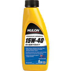 Nulon Premium Mineral Everyday Engine Oil 15W-40 1 Litre, , scanz_hi-res