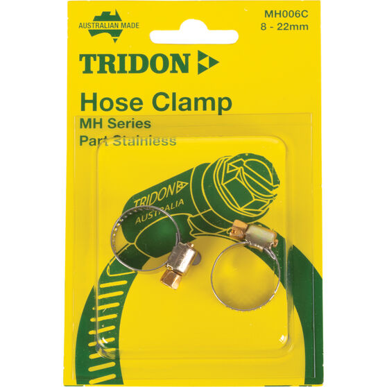 Tridon Hose Clamps - Part Stainless, 14-27mm, 2 Pieces, , scanz_hi-res