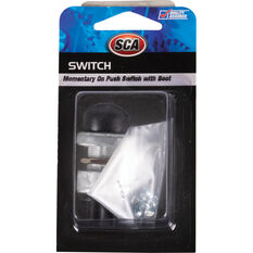 SCA Switch - Momentary On Push, 16mm, With Boot, , scanz_hi-res