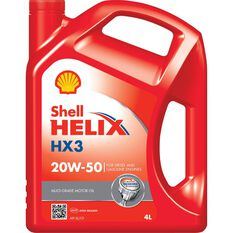 Shell Helix HX3 Engine Oil - 20W-50, 4 Litre, , scanz_hi-res