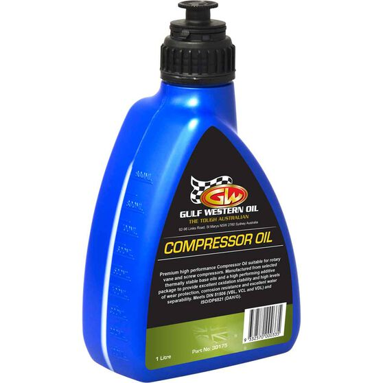 Gulf Western Compressor Oil 1 Litre, , scanz_hi-res