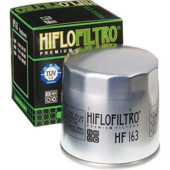 Motorcycle Oil Filter - HF163, , scanz_hi-res