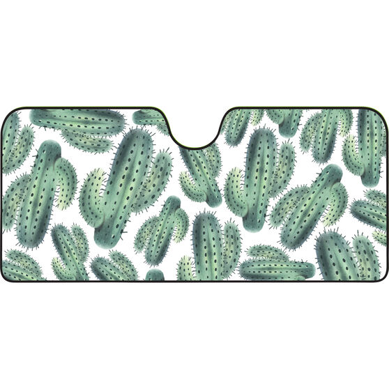 Cactus Sunshade - Fashion, Accordion, Front, , scanz_hi-res