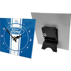 Official Licensed Ford Mini Glass Clock, , scanz_hi-res
