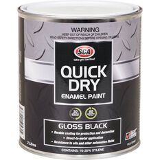 Quick Dry Enamel Black 2 Litre, , scanz_hi-res