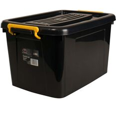 Storage Roller Box - 45 Litre, Black, , scanz_hi-res