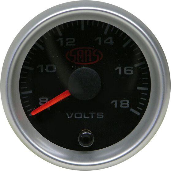 SAAS Volt Gauge - Black, 52mm, , scanz_hi-res