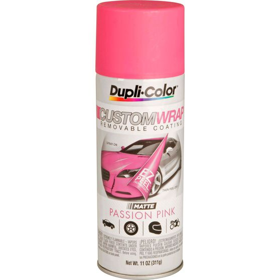 Dupli-Color Aerosol Paint Custom Wrap - Matte Passion Pink, 311g, , scanz_hi-res