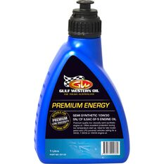 Gulf Western Premium Energy Engine Oil 10W-30 1 Litre, , scanz_hi-res