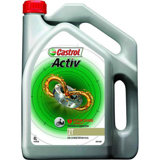 Castrol Activ 2T Motorcycle Oil - 4 Litre, , scanz_hi-res