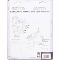 Martyr Alloy Outboard Anode Kit -CMY4060KITA, , scanz_hi-res