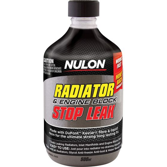 Nulon Radiator Engine Block Stop Leak - 500mL, , scanz_hi-res