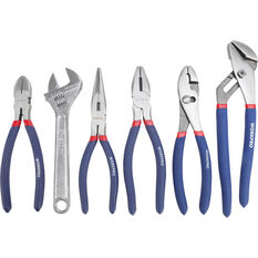 WORKPRO Plier & Wrench Set - 6 Piece, , scanz_hi-res