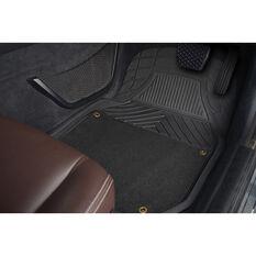 Ridge Ryder Deep Dish Combo Mats - Removable Carpet, Black, Set of 4, , scanz_hi-res