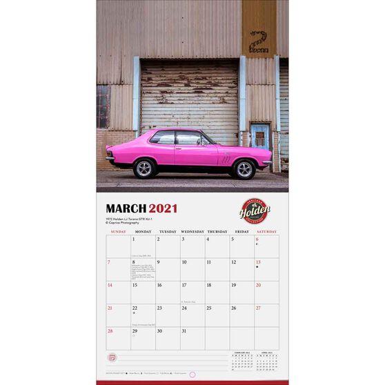 Calendar Holden Classic Cars Mini 2021, , scanz_hi-res