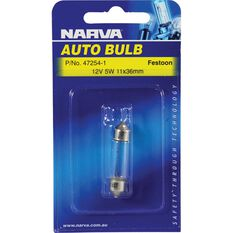 Narva Bulb - 12V, 5W, 11x36mm, , scanz_hi-res